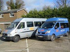 minibuses