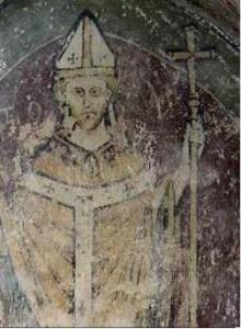 Becket fresco