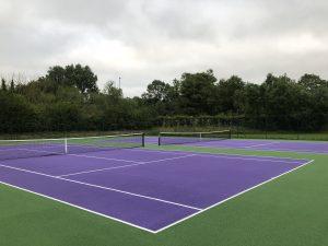 Hauxton Tennis re-starts