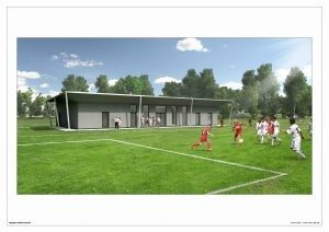Sports Pavilion receives funding for phase 1