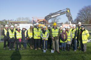 New Village Hall build starts
